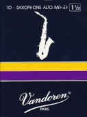 Vandoren plátek pro altový saxofon - tvrdost 1,5