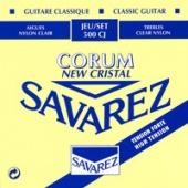 Savarez 500 CJ New Cristal Corum - nylonové struny pro klasickou kytaru (high tension)
