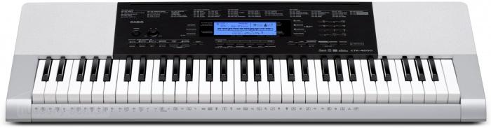 Casio CTK 4200 - klávesy s dynamikou
