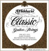D'Addario EJ 31 - nylonové struny pro klasickou kytaru