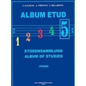 Album etud 5 - Kleinová, Fišerová, Mullerová