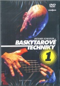 Baskytarové techniky 1 DVD  - Scheufler Richard