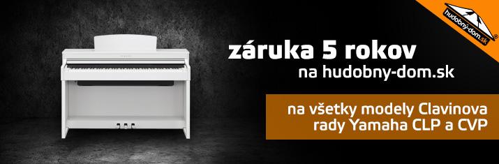 Záruka 5 rokov na hudobny-dom.sk