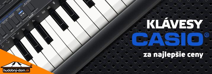 Klávesy Casio za najlepšie ceny