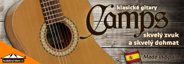 Klasické gitary Camps