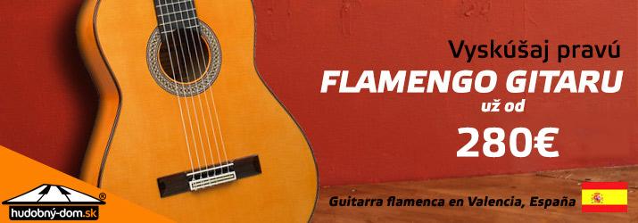 Čerstvá várka flamengo gitár zo španielskej Valencie