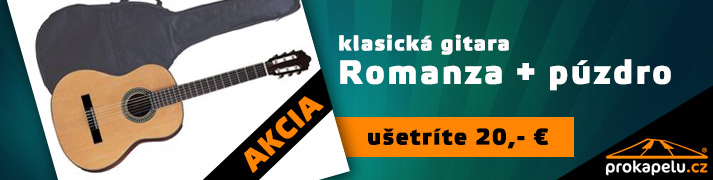 Romanza C390 - klasická gitara SET