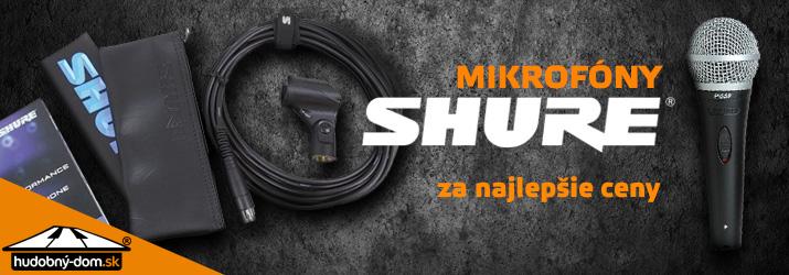 Mikrofóny Shure za najlepšie ceny