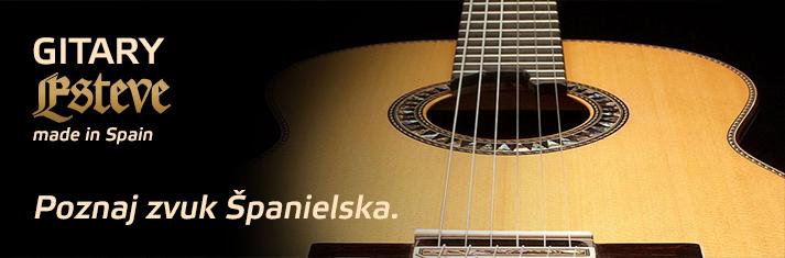 Gitary Esteve - poznaj zvuk Španielska