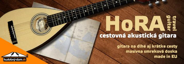 HoRA Travel guitar - cestovná akustická gitara